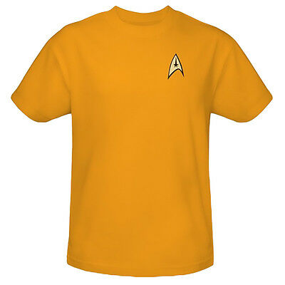 Star Trek Command Uniform T-Shirts For Trekkie High Quality Star Trek Tops