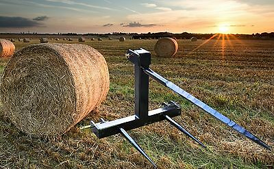 3-Point Bale Spear / Spike / Fork - for Category 1 & 2 Three-Point Linkage