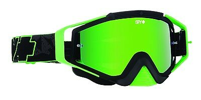 SPY Omen Motocross Goggle - Green Road 2 Recovery frame w/ Green Spectra Lens