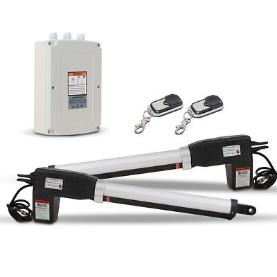 NEW Simtech Double Automatic Electric Swing Gate Opener Kit Remote Control