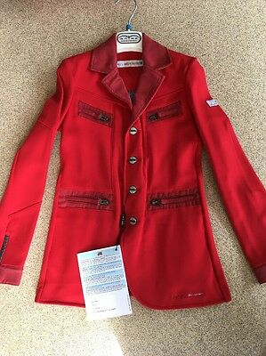 Animo Ino Boys Show Jacket Red Age 8