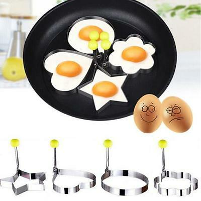 Stainless Steel Fried Lovely Egg Shaper Pancake Mould Mold Kitchen Cooking Tools