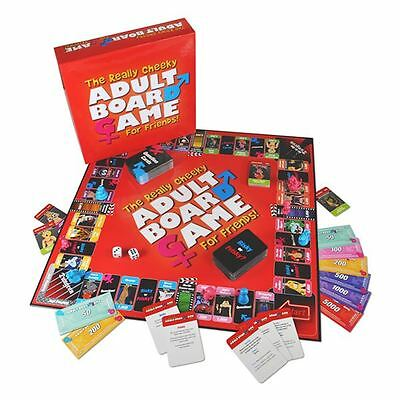 The Really Cheeky Adult Board Game For Friends - Fun Drinking & Party Games