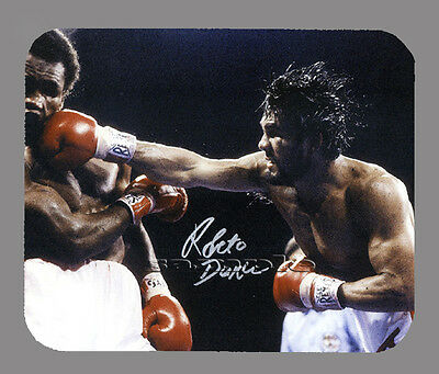 Item#3008 Roberto Duran Facsimile Autographed Mouse Pad