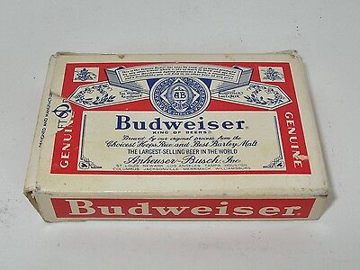 VINTAGE 1970's BUDWEISER PLAYING CARDS! FREE USA SHIPPING!