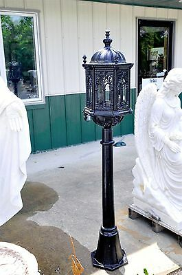 Garden Lighting Gothic Cast Iron Lantern Antique Design