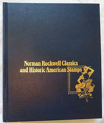 1978 Norman Rockwell Classics And Historic American Stamps, 100 Covers, Complete