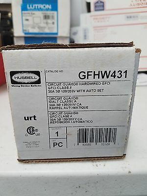 Hubbell GFHW431 Circuit Guard Hardwired GFCI
