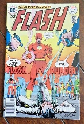 The Flash #246, (1977, DC): Cover by Neal Adams!