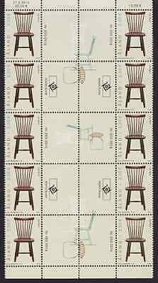 ALAND - 2016 - Lilla Aland-Chair. Gutter pair strip, 10v. Mint NH