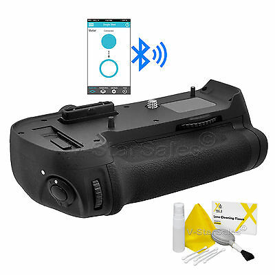 MB-D12 Bluetooth Battery Grip for Nikon D800 D800E D810 + Deluxe Cleaning Kit