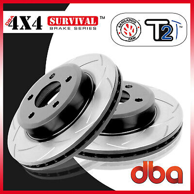 Front Pair DBA T2 Slotted Brake Rotor DBA2208S Fit Mitsubishi Challenger 08-ON