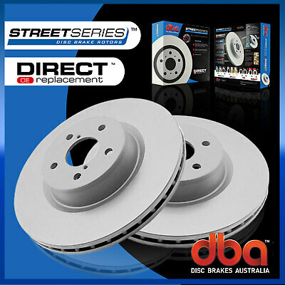Front Pair DBA STREET Brake Rotor DBA2544 Fit Honda Odyssey 2.4 RB MPV 04-ON