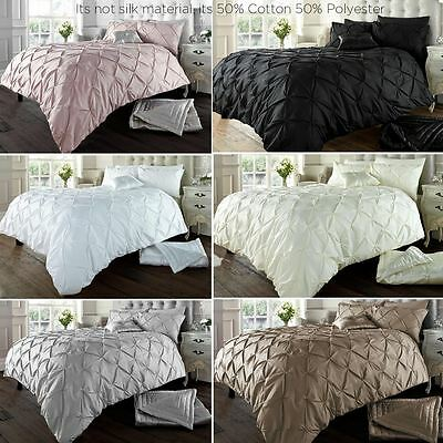 Alford Duvet Cover with Pillowcase Bedding Set Available in 6 Colors & All Sizes