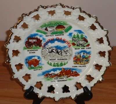 """SOUTH DAKOTA state collector's plate 8"""""""