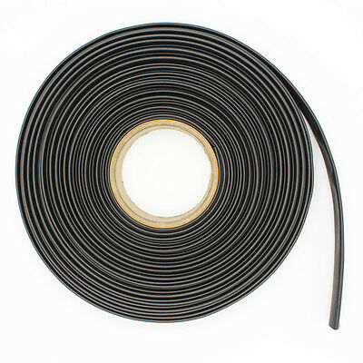 BLACK HEATSHRINK 3:1 TUBE TUBING SLEEVE HEAT SHRINK WRAP CABLE 3MM-50MM 1M per