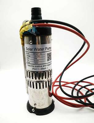 DC 12V, 132/264/396W Solar Stainless Deep Well Submersible Water Pump 10/20/30M