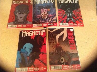 MAGNETO 1 2 3 4 5 Marvel Now Lot Set Run Collection