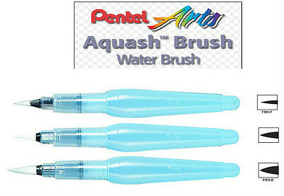 Pentel Aquash Water Brush - Set of 3