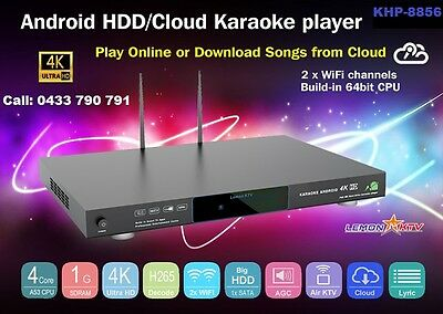 ANDROID KARAOKE 8856 5TB WITH 52,383 Vietnamese & English songs WIFI, NEW 2016