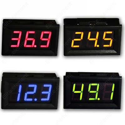 DC 9-100V Battery Monitor 9V 12V 24V 36V 72V 96V Voltage Meter No Need Power GZ