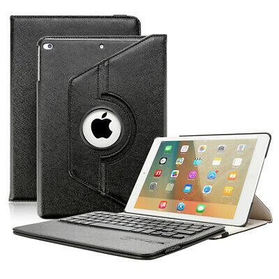 NEU iPad Pro 9.7 360° leder Case Schutz Hülle Tastatur Cover+Bluetooth Keyboard