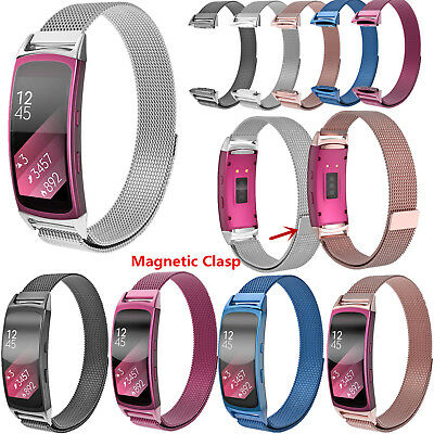 Milanese Magnetic Edelstahl Armband Strap For Samsung Galaxy Gear Fit 2 SM-R360