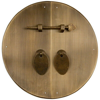 """Classic Round Cabinet Face Plate 11"""""""