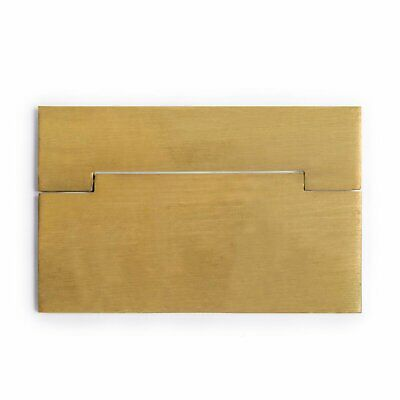"CBH Chinese Brass Hardware SQUARE Drawer Cabinet Pulls 3.1"" - Set of 2"