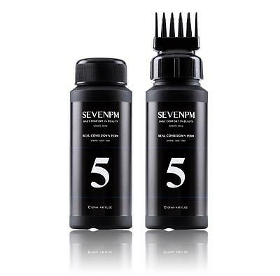 SEVENPM Real Comb Men's Self Styling Side Hair Down Perm 120ml