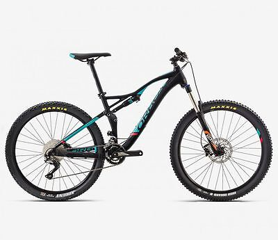 NEW 2017 Orbea Occam AM H50 Mountain Bike MTB Large Black Green