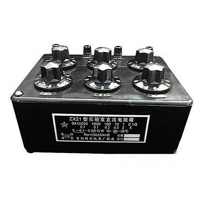 Newest ZX21 Precision Variable decade resistor resistance box 0.1R