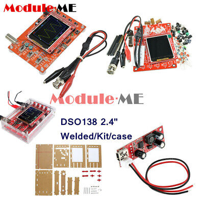 "Assembled DSO138 2.4"" TFT Digital Oscilloscope Kit DIY parts ( 1Msps ) + probe M"
