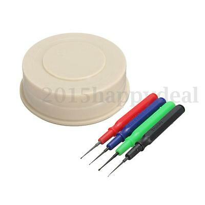 3 in 1 Plastic Oil Cup & 4Pcs Pins Loading Of Oiler Disc Watch Clock Watchmaker