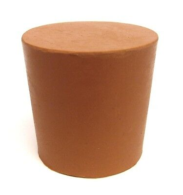 Red Rubber Bung Stopper No 35