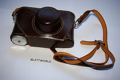 GENUINE  LEICA IIIG EVEREADY CAMERA  CARRYING CASE w/ STRAP EXCELLENT CONDITION