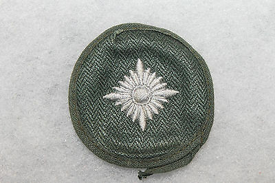 Original WW2 German Army Oberschutze (Senior Rifleman) HBT Green Rank Pip Patch
