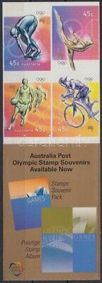 Australia stamp Summer Olympics self-adhesive stamp-booklet 2000 MNH WS205412