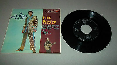 Elvis Presley Ep A Touch Of Gold