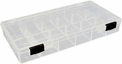 Organiser 18 Compartment Clear Plastic ORG09