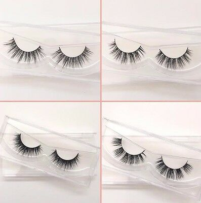 Kylie & Lilly 100% Luxury 3D Mink False Eyelashes Long Strip Party Miami Lashes