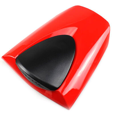Red Motorcycle ABS Rear Seat Cover Cowl Fairing For Honda CBR600RR 2007-2012