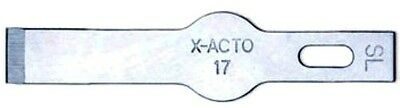 X-Acto 0217 #17 Light Weight Chisel Blade 5pk
