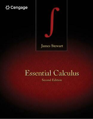 Essential Calculus by James Stewart (English) Hardcover Book Free Shipping!