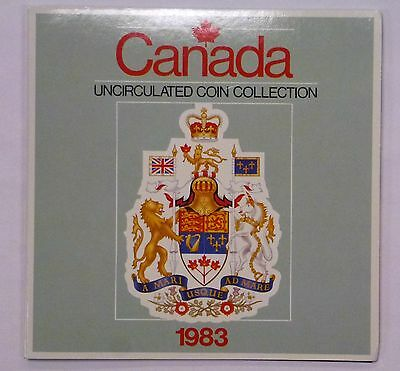 {BJSTAMPS} 1983 CANADA Uncirculated 6 Coin Collection