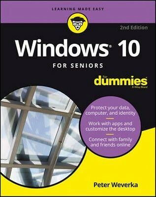 Windows 10 for Seniors for Dummies by Peter Weverka Paperback Book (English)