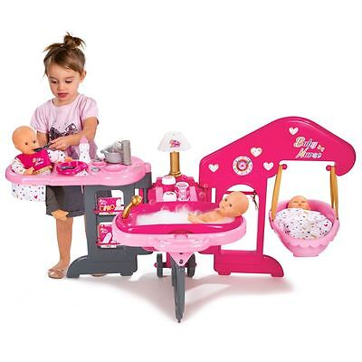 Baby Nurse Nursery Centre - DOLL PLAYSET & ACCESSORIES - Dolls up to 42cm