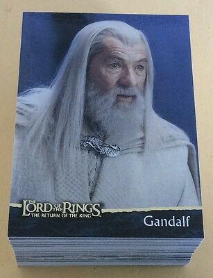 2004 Topps The Lord Of The Rings Return Of The King Trading Card Set