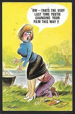 Vintage Postcard - OW That's The Very Last Time - Free Postage