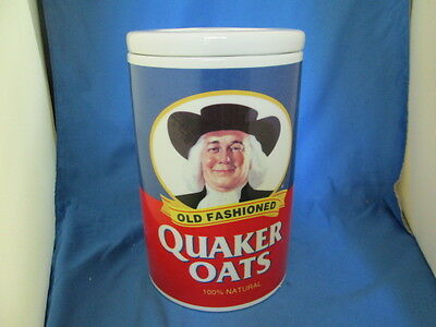 1997 Old Fashioned Quaker Oats 120th Anniversary Porcelain Cookie Jar